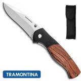 """26369103 - Canivete Inox 3"""" Cabo de Madeira"""