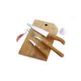 Conj. para Cozinha em Bambu Oregon - 4 Pçs - imb-20343