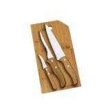 Conj. para Cozinha em Bambu Oregon - 4 Pçs - imb-20523