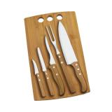 Conj. para Cozinha em Bambu Califórnia - 6 Pçs - imb-21533
