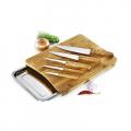Conj. para Cozinha em Bambu Phoenix - 7 Pçs - imb-22573