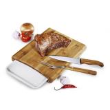 Conj. Para Cozinha Em Bambu Arizona - 4 Pçs - imb-23063