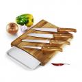 Conj. Para Cozinha Em Bambu Arizona - 6 Pçs - imb-23653